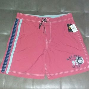 New 34 NAUTICA Surf Style Board Shorts Trunks